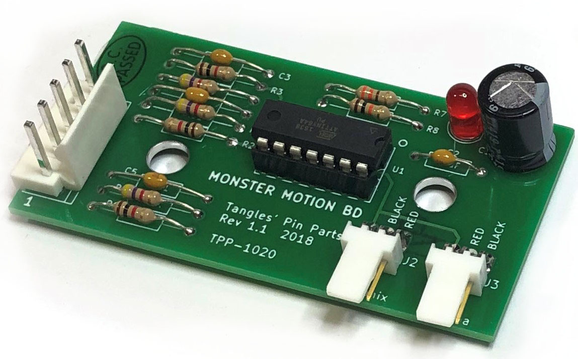 Monster Motion Board for Sega Mary Shelley's Frankenstein - Replaces 520-5113-00