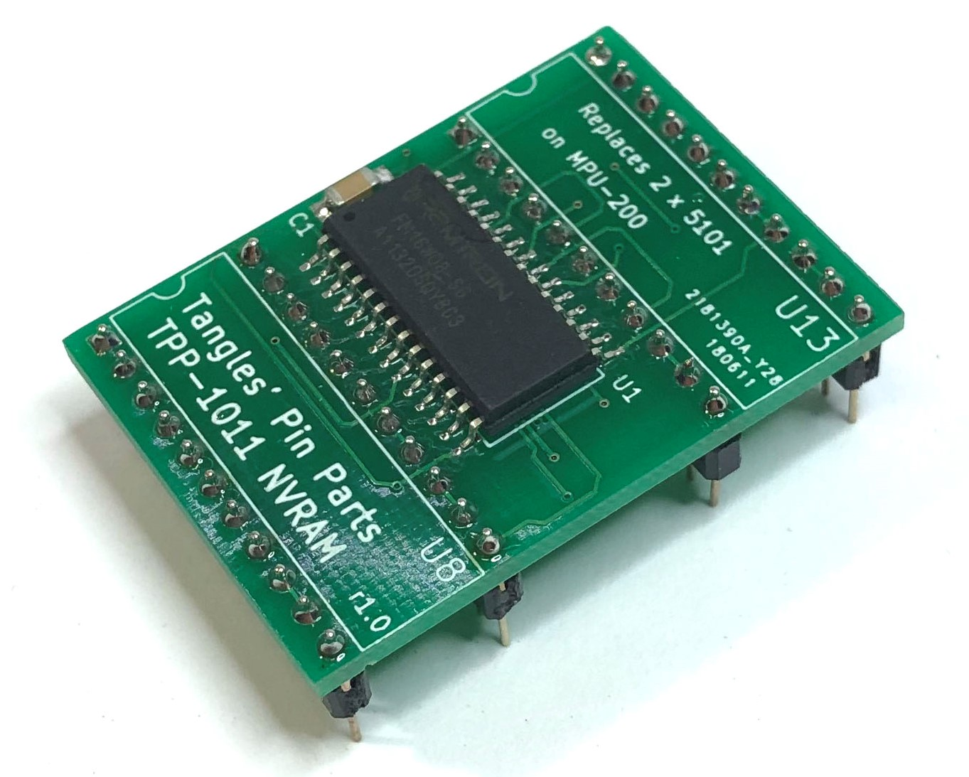 Pinball NVRAM for Stern MPU-200 machines