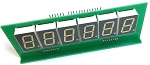 6 Digit LED Score display for Bally or Stern Pinball - Set of 5 - Fully Assembled