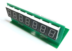 7 Digit LED Score display for Bally or Stern Pinball - Set of 5 - Fully Assembled