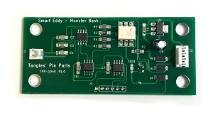 "Smart Eddy Board - a re-designed ""Eddy"" proximity detector for Monster Bash"